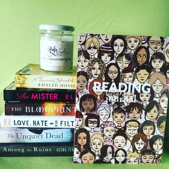 reading journal and bookclub books fofky