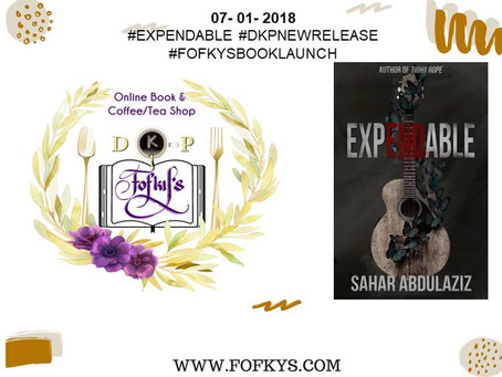 EXPENDABLE's Book Launch
