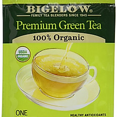 Bigelow Premium Organic Green Tea