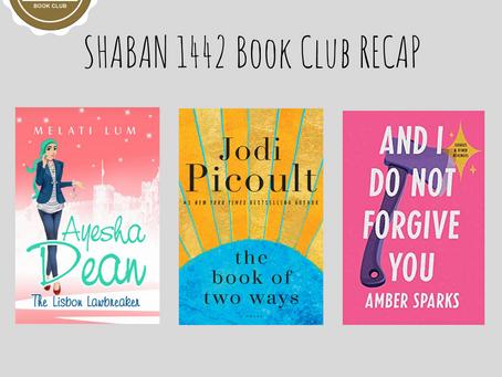 Shaban Book Club Recap