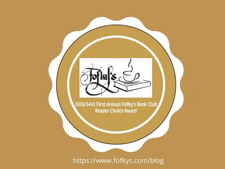 2019/1441 First Annual Fofky's Book Club Reader Choice Award