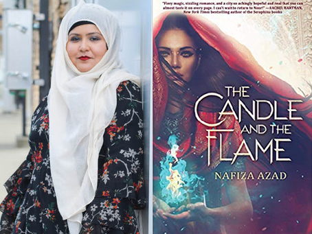 The Candle and The Flame — An Interview with the Author