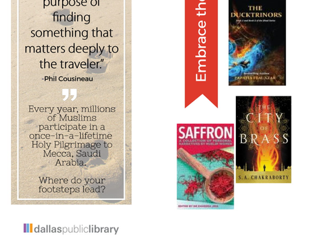 Free Bookmarks at the Dallas Public Library!
