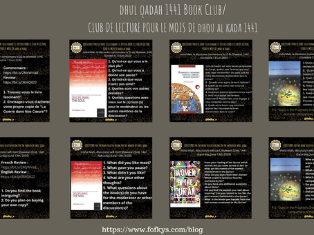 Dhul-Qadah 1441 Book Club Recap