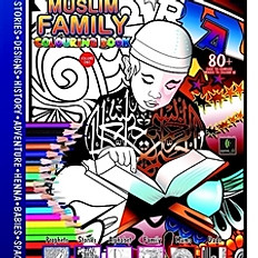 Muslim Family Colouring Book