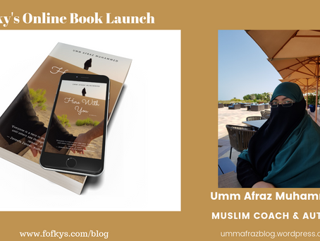 """Here With You"" by Umm Afraz Muhammed — An Online Book Launch"