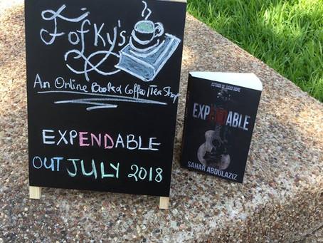 'EXPENDABLE' by Sahar Abdulaziz : An Upcoming Book Launch!