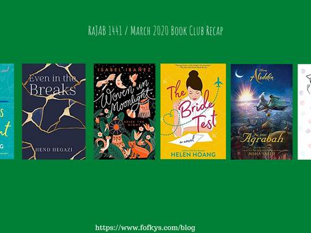 Rajab 1441/March 2020's Book Club Recap