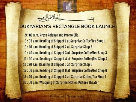 Dukyarian Rectangle's Book Launch