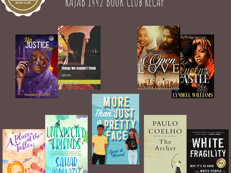 Rajab Book Club Recap