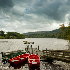 Boats at Piclochry