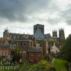 Minster from the wall