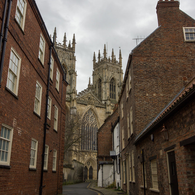 View to the Minster