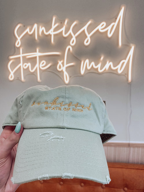 Sunkissed State of Mind Hat Mint