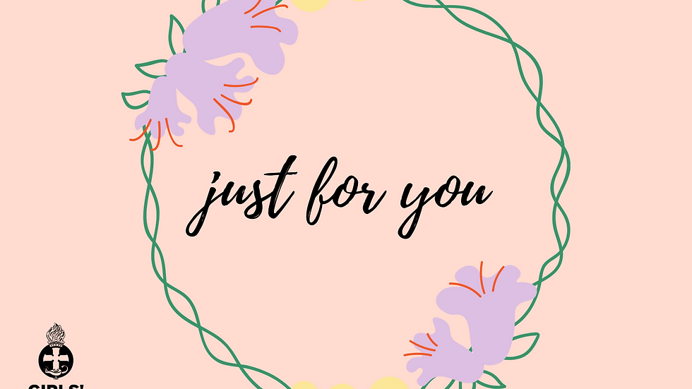 Postcard - Just for you