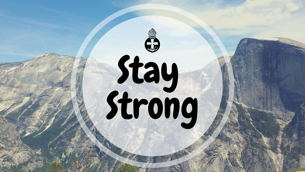 Postcard - Stay Strong