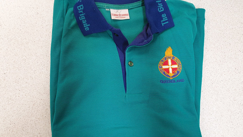 SECOND HAND Teal Qld Polos