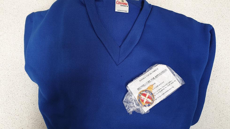 Royal Blue Fleecy Pullover