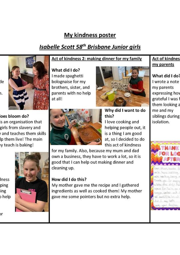JUNIOR - 58th Brisbane - Isabelle Scott