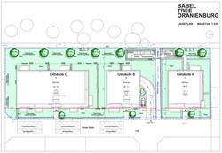 Lageplan Gebäude ABC