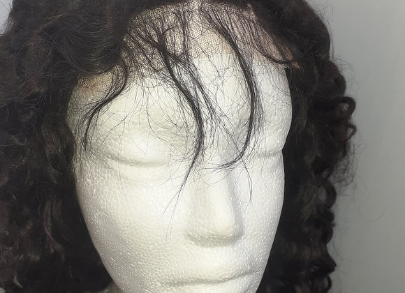 Virgin Brazilian Curls wig 18inch