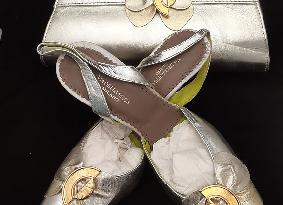 African Wedding Shoe and bag