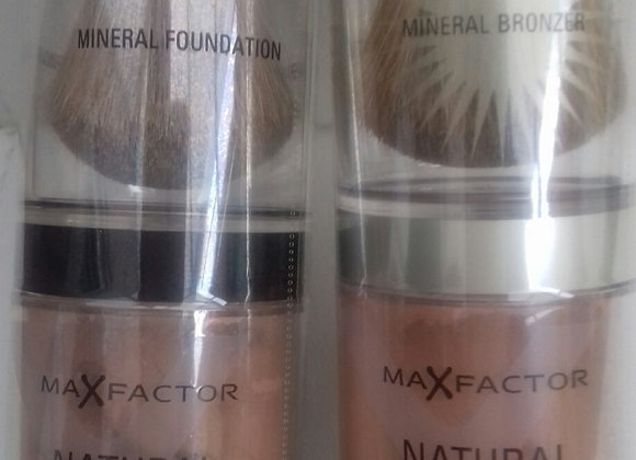 NATURAL FOUNDATION & BRONZER
