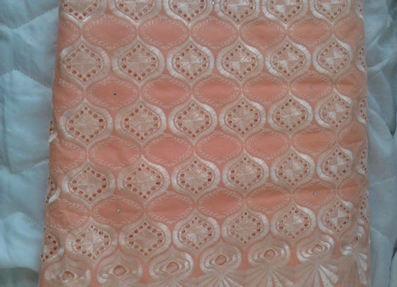 African Nigeria Lace Fabric, 5yards