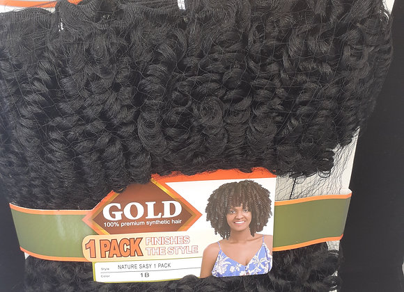 Afro Nature hair l pack for full head