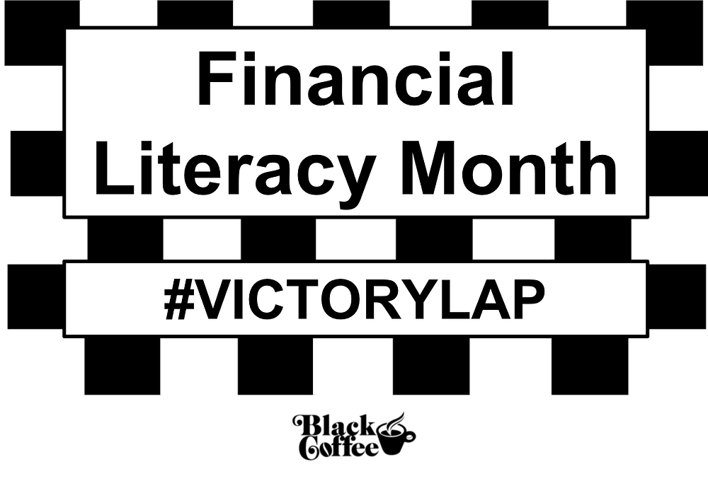 Financial Literacy Month, Financial Wellness, Banking, Saving, Investing, Brokerage Account, ETFs, Retirement, Coffee, Black Coffee, Organic, Fair-trade