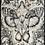 Thumbnail: Moth Man Art Print