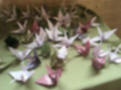 Origami Swan Guest Book