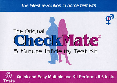 Check Mate- infidelity Test Kit