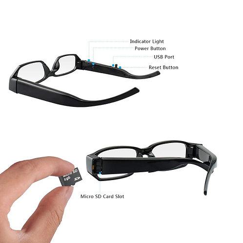 1080p High Definition Eyeglass-Hidden Camera