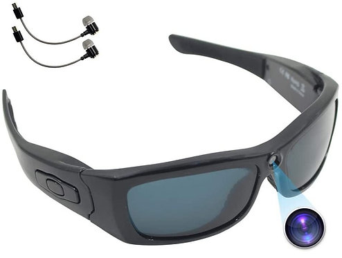 1080 Sunglass Camera with Bluetooth Headset