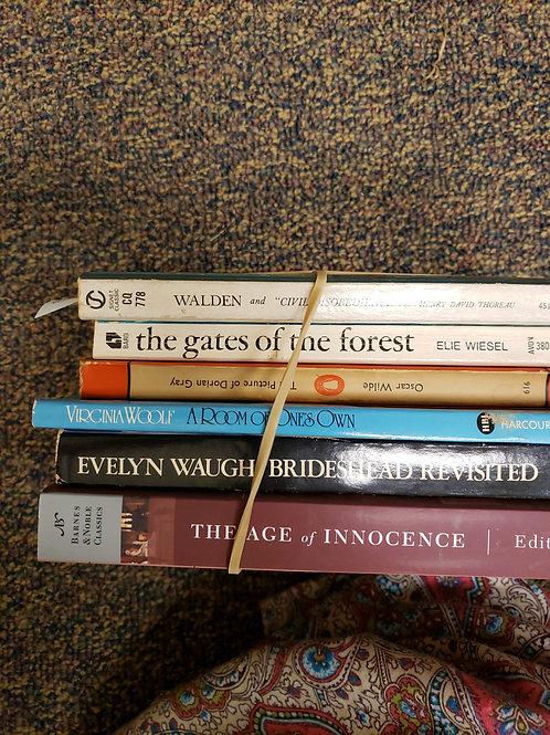 Classics - Walden, Wiesel, Woolf