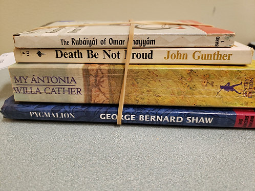 Classics - Gunther, Cather, Shqw