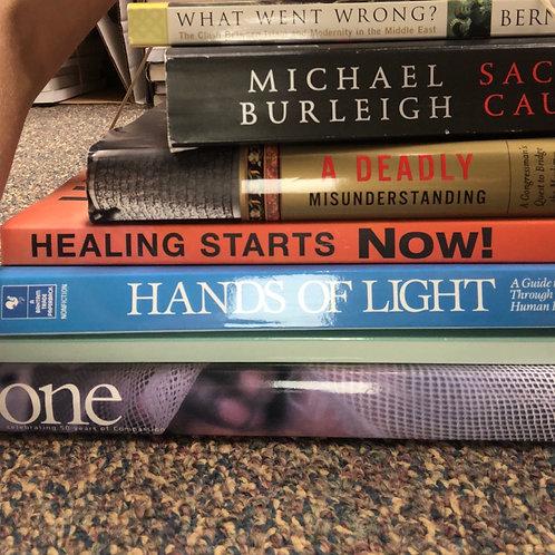 Healing, Faith Power, Rwligious Conflict: Hunter, Brennan, Lewis