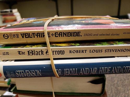 Classics  - Voltaire, Stevenson