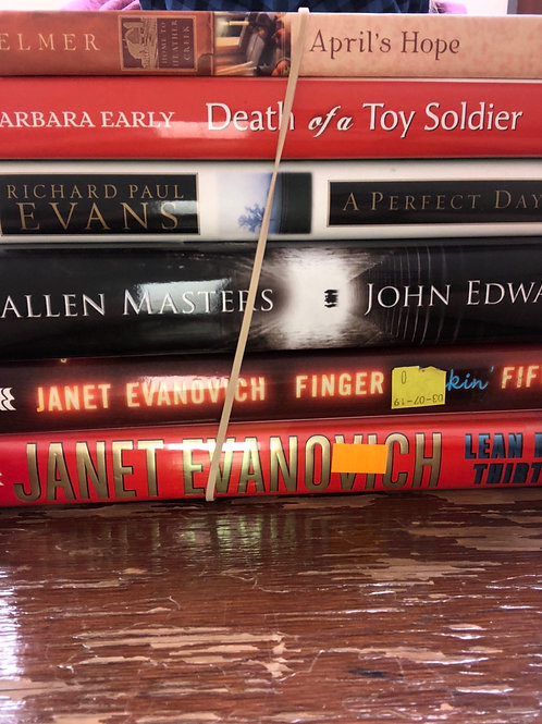 Elmer, Early, Evans, Masters, Evanovich