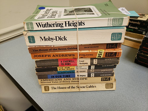 Classics - Bronte, Melville, Hemingway
