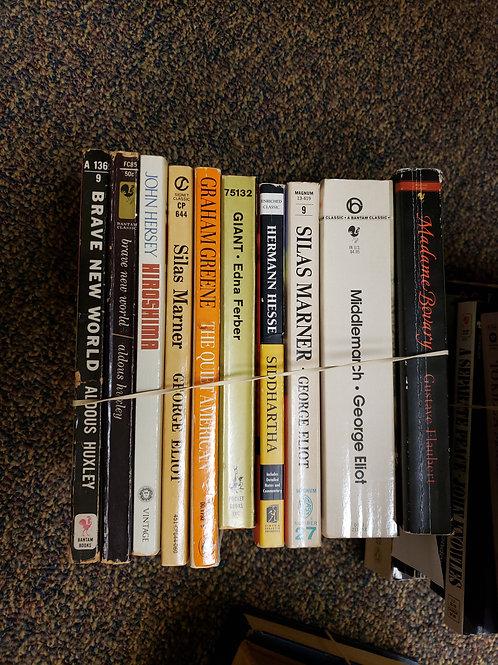 Classics - Eliot, Hesse, Hersey, Huxley