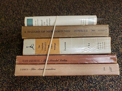 Classics- Howells, Emerson, Hawthorne