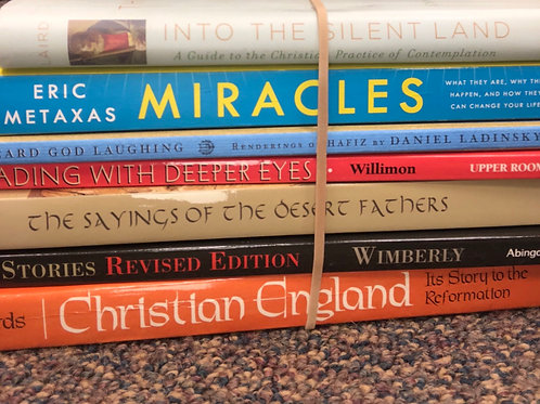 Christian Thought / England, faith history, contemplative reading: Ladinsky, etc