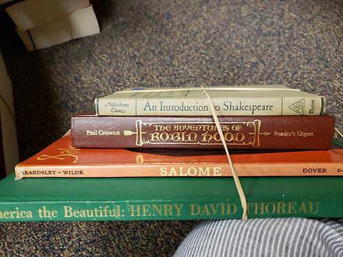 Classics - Chute, Creswick, Thoreau