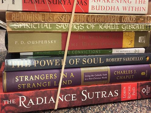 Buddhism, Soul:  Surya Das , Sardello, Roche, Gibran