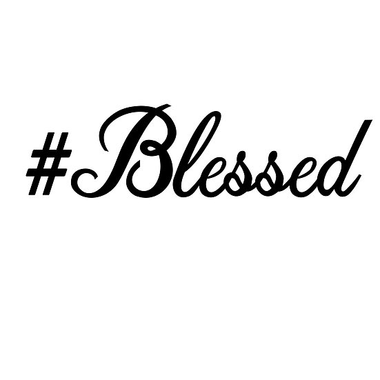 #Blessed Decal