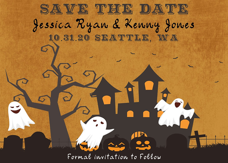Halloween Save the Date