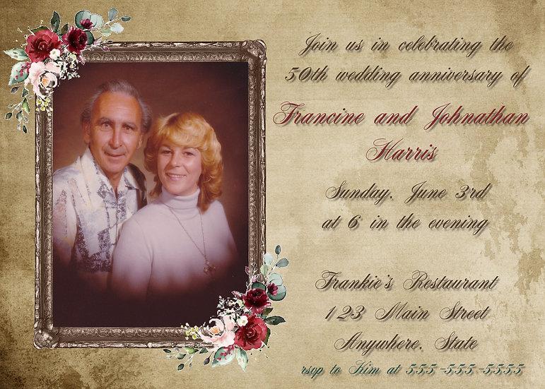 Photo Frame Anniversary