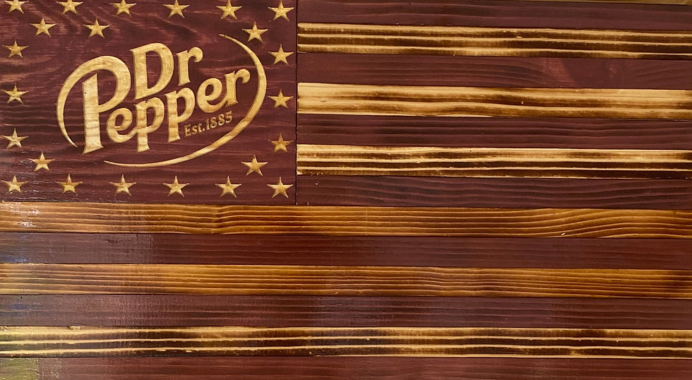 Dr. Pepper Flag (large)